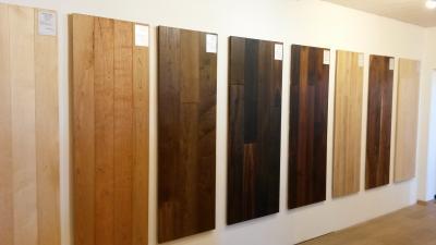 Massivholz Ausstellung